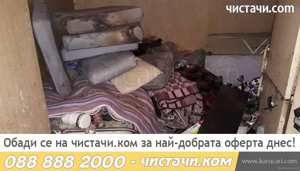 Извозване на легла и маси от жилище